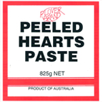Peeled Hearts Paste : Plover Brand